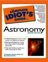 the complete idiot's guide to astronomy, second edition