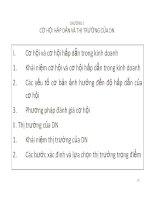Bài giảng marketing thương mại chương 2