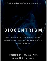 biocentrism how life and consciousness are the keys to understanding by robert lanza