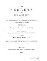 anon - 1847 - the secrets of the mash tun; or, causes of failure in producing good ale or beer