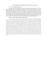Tài liệu TÂM PHẾ MÃN: BỆNH CỦA NGƯỜI CÓ TUỔI doc
