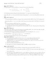 Tài liệu Bộ đề thi đại học, cao đẳng tổng hợp các khối môn Toán docx