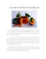 Tài liệu Các món ăn bài thuốc từ não động vật pdf