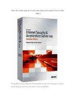 Tài liệu Thực thi và khắc phục sự cố triển khai chứng chỉ trong ISA Server 2006 – Phần 2 doc