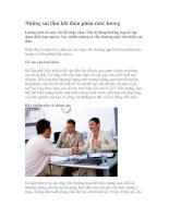 Tài liệu Những sai lầm khi đàm phán mức lương doc