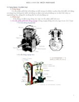 Bài giảng về cơ cấu phân phối khí