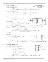 Bài giải kết cấu thép