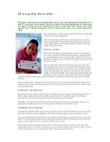 Tài liệu 6P trong tiếp thị cá nhân pdf