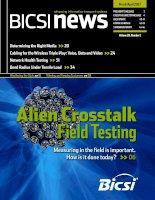 Tài liệu BICSI News - Determine the right media for your networks doc