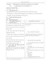 Tài liệu Giáo án tin học 12 từ bài 1-4 và bài thực hành pptx