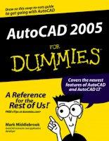Tài liệu Vẽ kỹ thuật với Autocad 2005 P1 pptx