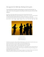 Tài liệu Ba nguyên tắc lãnh đạo thường bị bỏ quên pptx