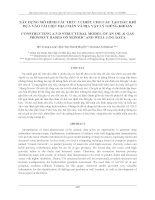 Tài liệu XÂY DỰNG MÔ HÌNH CẤU TRÚC 3 CHIỀU CHO CẤU TẠO DẦU KHÍ docx