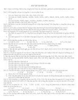 BÀI TẬP CHƯƠNG LIÊN KẾT HÓA HỌC - CÔ LÊ TRÀ THPT PHỤ DỰC THÁI BÌNH