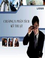 Slide bài giảng phân tích đầu tư chứng khoán chương 5   phân tích kỹ thuật