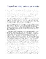 Tài liệu 7 bí quyết của những nhà lãnh đạo tài năng pdf