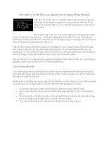 Tài liệu Bảo mật cơ sở dữ liệu (các nguyên tắc sử dụng thông thường) pdf
