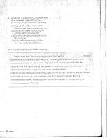 Tài liệu Mastering skills for the toefl ibt advanced part 6 pptx