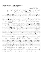 Tài liệu Bài hát thu hát cho người - Vũ Đức Sao Biển (lời bài hát có nốt) pptx