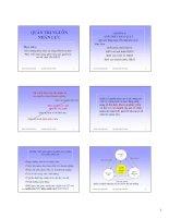 Tài liệu Bài giảng Qủan trị nguồn nhân lực.PGS TS Trần Kim Dung ppt