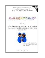 Tài liệu Luận văn tốt nghiệp