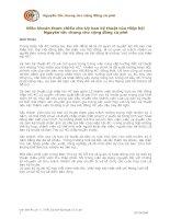 Tài liệu Điều khoản tham chiếu cho Uỷ ban kỹ thuật của Hiệp hội Nguyên tắc chung cho cộng đồng cà phê docx