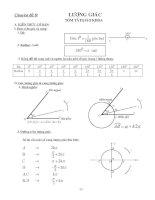 Tài liệu Phương trình lượng giác ôn thi tốt nghiệp pdf