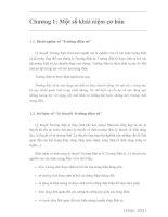 Tài liệu Lý thuyết trường điên tử P1 docx
