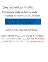 Tài liệu Create New Event Monitor For Locking ppt