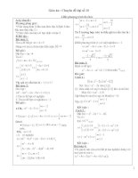 Tài liệu Chuyên đề về đại số lớp 10 pptx