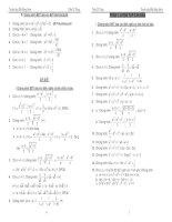 Tài liệu Tuyển tập Bất đẳng thức - Trần Sĩ Tùng pdf