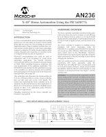Tài liệu X-10 Home Automation Using the PIC16F877A 00236a pdf