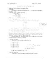 Tài liệu Cơ sở lý thuyết: Giới thiệu các cổng logic cơ bản pptx