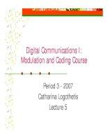 Tài liệu Modulation and coding course- lecture 5 doc