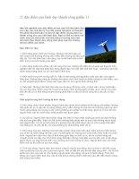 Tài liệu 21 đặc điểm của lãnh đạo thành công doc