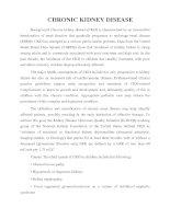 Tài liệu CHRONIC KIDNEY DISEASE pdf