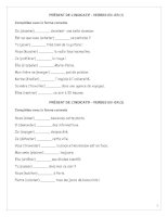 Tài liệu 1 số bài tập tiếng Pháp doc