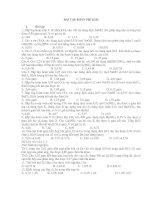 Tài liệu BÀI TẬP PHẦN PHI KIM pptx