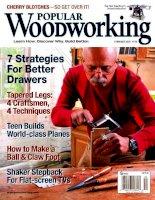 Tài liệu Popular Wood Working P1 pptx