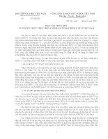 Tài liệu BÁO CÁO TỔNG KẾT 15 NĂM TỔ CHỨC THỰC HIỆN CHÍNH SÁCH BẢO HIỂM Y TẾ Ở VIỆT NAM docx