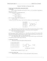 Tài liệu Chương I: Giới thiệu các cổng logic cơ bản pptx