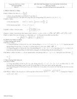 Tài liệu Đề và đáp án luyện thi đại học 2010 khối A-B-C-D đề 7 docx