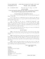 Tài liệu QUYẾT ĐỊNH số 25/2009/QĐ-UBND tỉnh Bình Thuận v/v ban hành quy định chức năng, nhiệm vụ, quyền hạn, tổ chức bộ máy, mối quan hệ công tác của sở Xây Dựng Bình Thuận docx