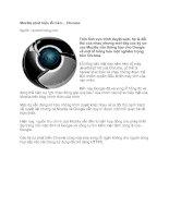 Tài liệu Mozilla phát hiện lỗi trên… Chrome pdf