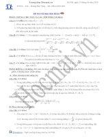 Tài liệu Đề và đáp án thi thử đại học môn Toán 2010_số 03 docx