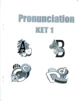 Tài liệu Pronunciation in english pptx