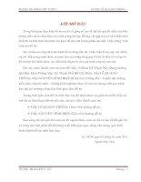 ĐỒ ÁN BÊ TÔNG CỐT THÉP Đại Học Giao Thông Vận Tải Thành Phố Hồ Chí Minh