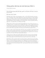 Tài liệu Những phẩm chất làm nên nhà lãnh đạo (Phần 2) pdf