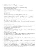 Tài liệu LÀM THẾ NÀO ĐỂ BẢO VỆ CÁC MÁY TÍNH CỦA MỘT TỔ CHỨC docx