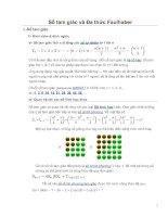 Số tam giác và đa thức faulhaber